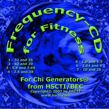 Frequency CD for Fitness
