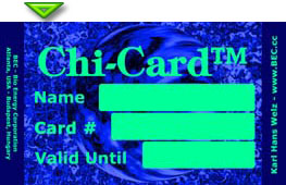 Chi-Card® for nine months -