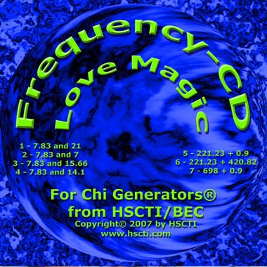 Frequency CD for Magical Love