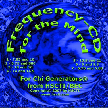 Frequency CD for the Mind