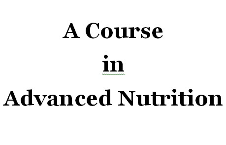 Advanced Nutrition Course
